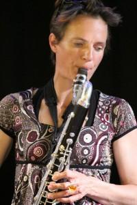 Marie Mazille, une musicienne à l'Arlequin (photo : François Fourel).