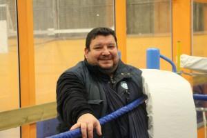 Patrick Mallaizée, l'entraîneur principal du Ring grenoblois, a vu passer de nombreux espoirs de la boxe en France dans son club formateur.