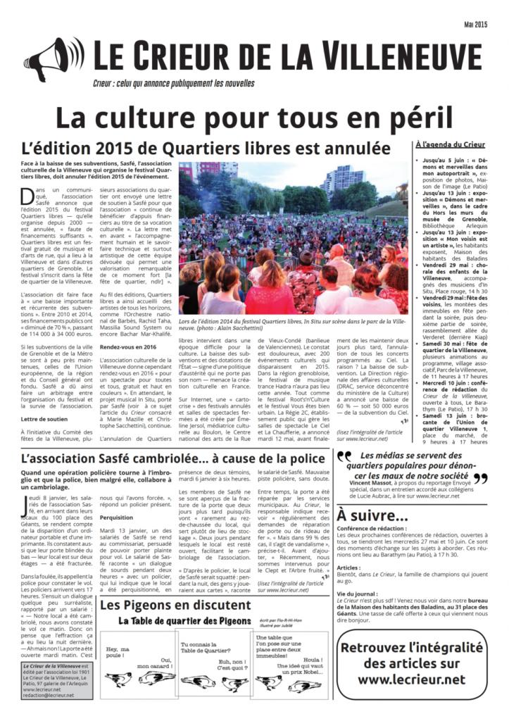 Affiche mai 2015