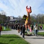 Carnaval de la Villeneuve, 10 avril 2015 (photo : Benjamin Bultel, Le Crieur de la Villeneuve)