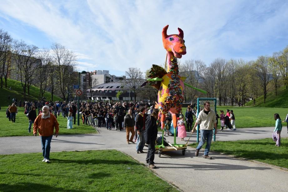 Le carnaval de la Villeneuve en images