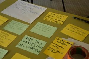 Les participants pointent le chômage comme principal problème à la Villeneuve (photo : BB).