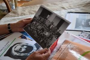 La photo de classe de CP d'Abdelhamid Benhamada, en 1955, à Dellys (à 50 km à l'est d'Alger) (photo : BB)