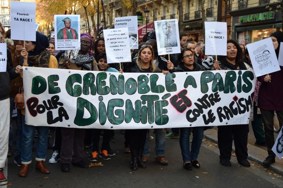 La Marche de la dignité et contre le racisme en images