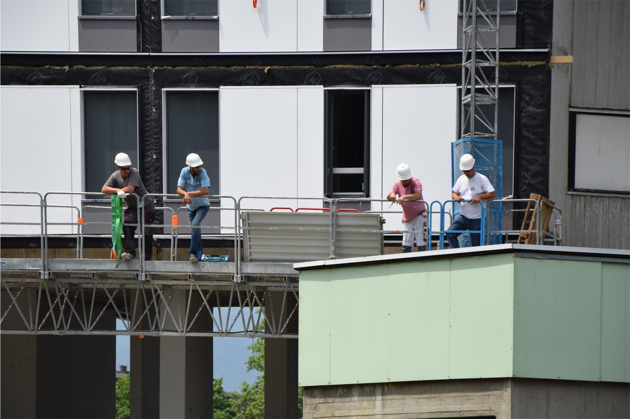 L'équipe pluridisciplinaire en charge de la rénovation urbaine désignée
