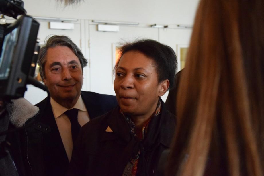 Visite surprise de la secrétaire d'État à la Ville