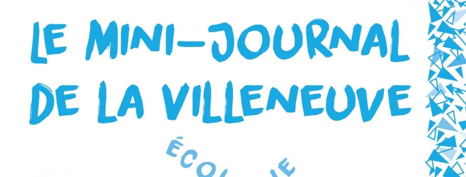 Lisez le journal des enfants de la Villeneuve