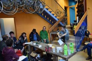 De nouveaux bénévoles se sont engagés lors de la réunion du 12 mai. (photo : BB, Le Crieur de la Villeneuve)