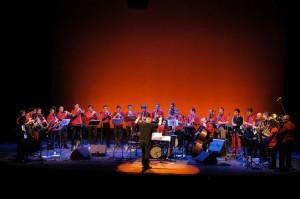 François Raulin dirige l'orchestre Micromégas, qui jouera à l'Espace 600 lundi 20 juin. (image : site de François Raulin)