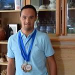 Nicolas Virapin, l'athlète en or