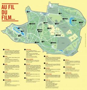 La carte des rencontres du film.
