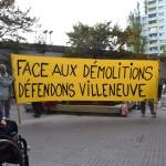 Mobilisation contre les destructions