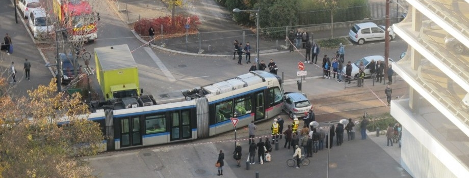 Nouvel accident au carrefour dangereux du tram