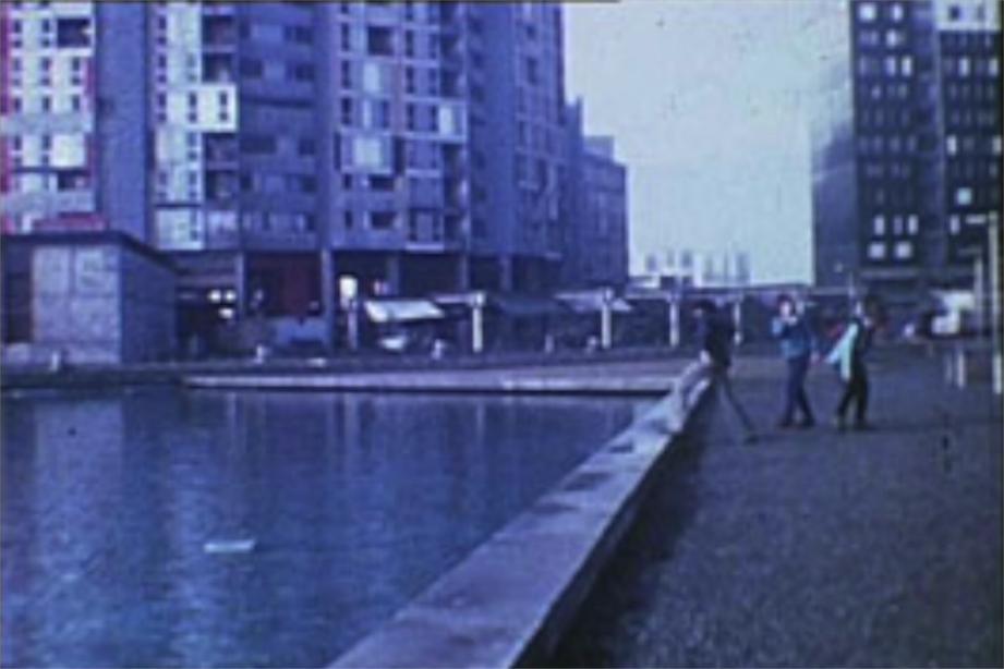 Lundi 31 octobre, la Cinémathèque retraçait l'histoire de la Villeneuve à travers trois moyens métrages. (photo : image tirée des archives de Videogazette présentes dans le film Villeneuve)