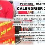 Les pompiers ont vendu leur calendrier avec les habitants