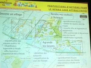 """La """"version zéro"""" des futurs projets, présentée mardi 13 décembre. (photo : Ateliers populaires d'urbanisme)"""