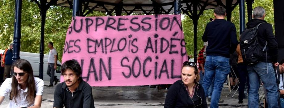 Plan de licenciement massif dans le secteur associatif :la double-peine à laquelle nous faisons face