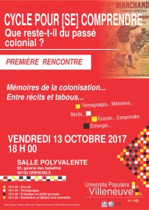 AFFICHE COLONISATION