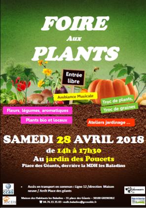 Foire aux plants du jardin des Poucets @ Jardin des Poucets