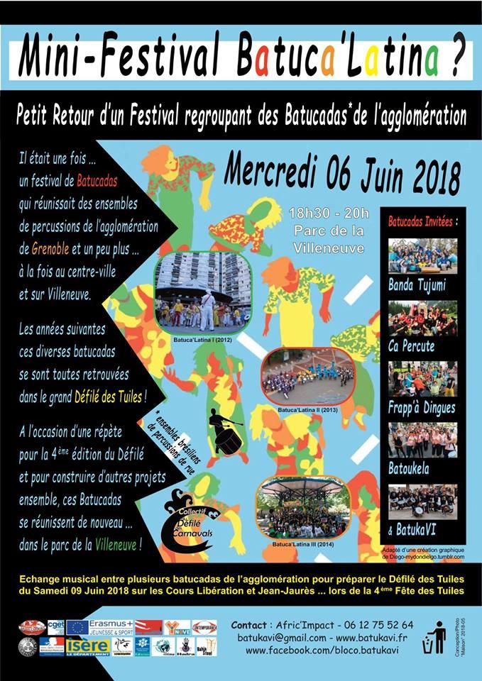 Batuca'Latina, mini festival de batucadas @ Place rouge