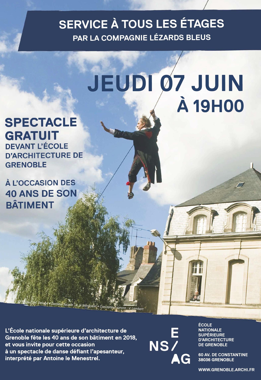 Fête d'anniversaire de l'Ecola nationale supérieure d'architecture de Grenoble @ Ecole nationale supérieure d'architecture de Grenoble