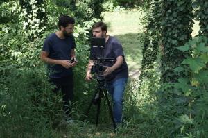 Naïm Aït-Sidhoum et Julien Perrin. (photo : Dorian Degoutte, Les Films de la Villeneuve)