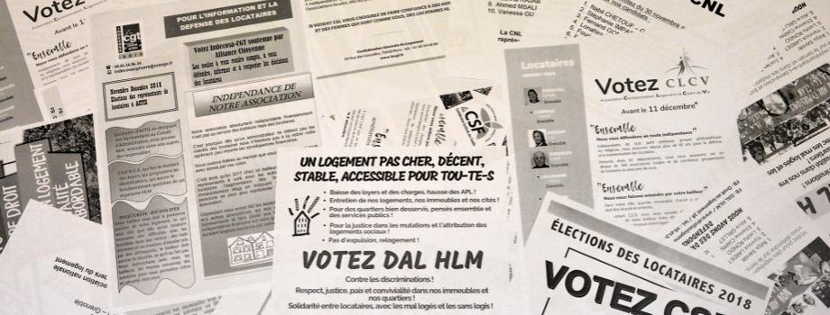 Élections dans les HLM, pour qui voter ?