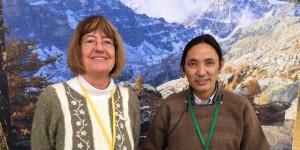 Les réalisateurs Christiane Mordelet et Stanzin Dorjai Gya.