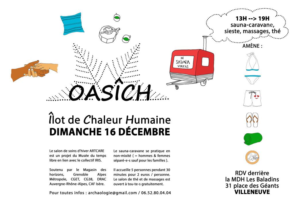 """Une """"oasich urbaine"""" à la Villeneuve @ Devant le local de Kiap"""