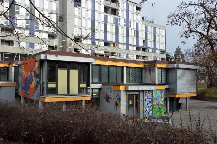 La Régie de quartier Villeneuve - Village Olympique est une grosse structure de l'ESS dans le quartier. (photo : BB, Le Crieur de la Villeneuve)