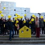 En jaune pour un référendum
