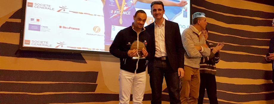 Nicolas Virapin élu sportif grenoblois 2018