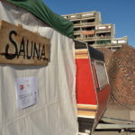 Place à la caravane-sauna