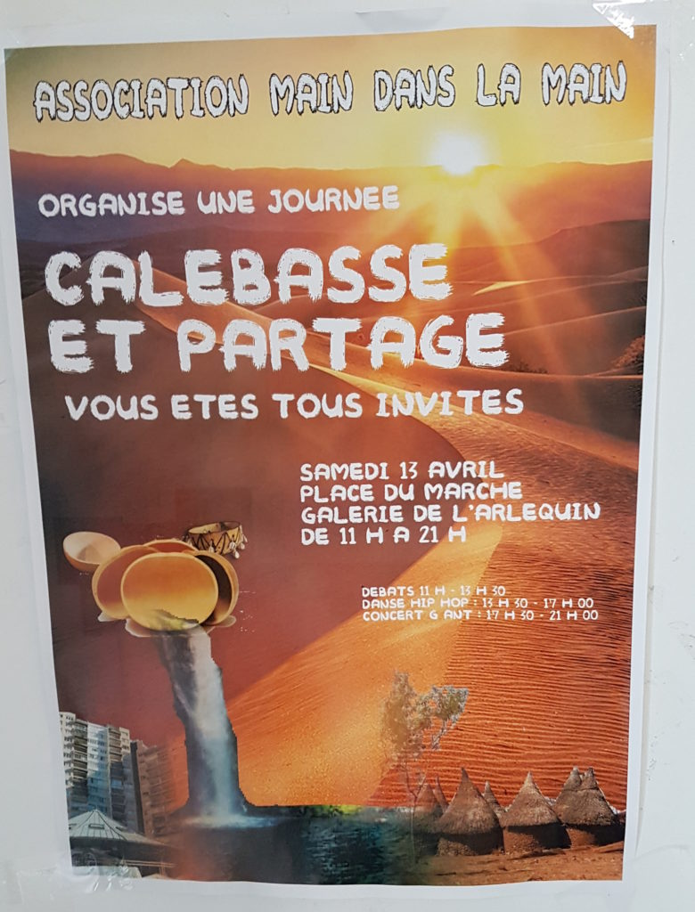 Journée festive Calebasse et partage @ Place du marché