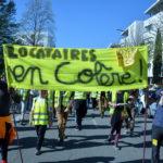 Gilets jaunes et front contre les expulsions à Villeneuve