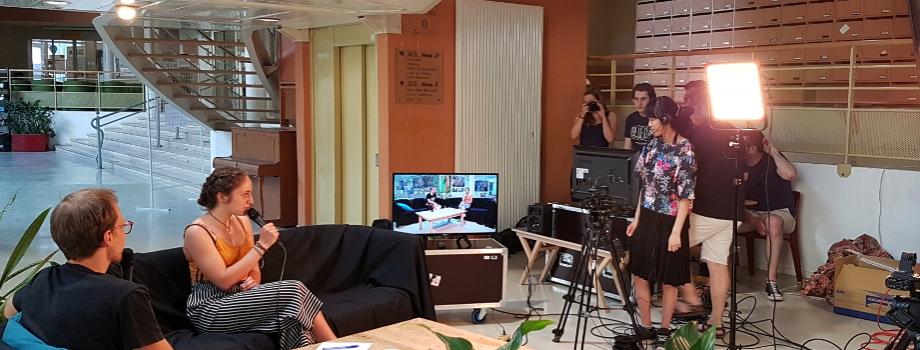 La Maison de l'image inaugure le plateau TV de son médialab