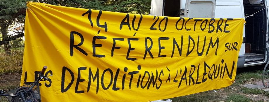 Un référendum sur les démolitions de logements sociaux