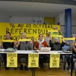 «Nous réclamons l'arrêt des démolitions!»