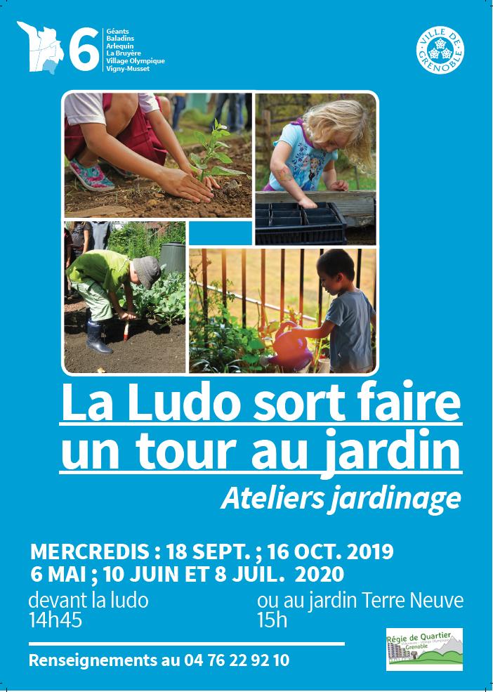 Ateliers jardinage de la ludothèque @ Jardin des Poucets