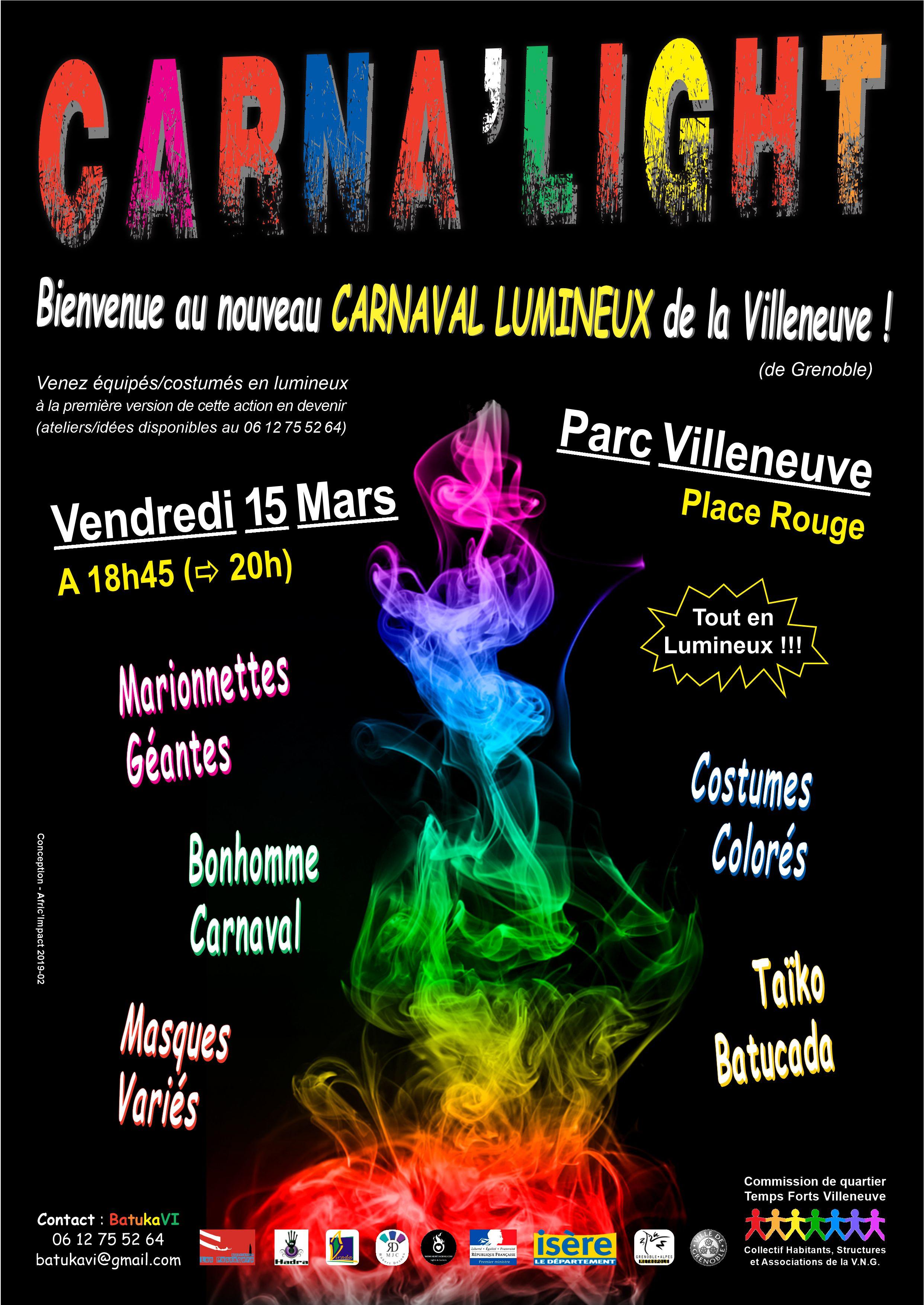 """Réunion d'organisation du carnaval """"Carna'light"""" @ MJC Robert Desnos"""
