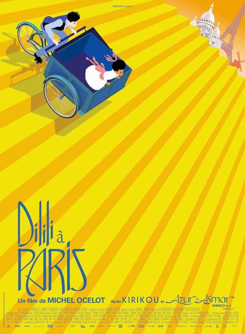 [Cinéma pop-corn] Dilili à Paris @ Le Barathym