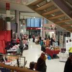 Des artisanes locales ont exposé pour Noël
