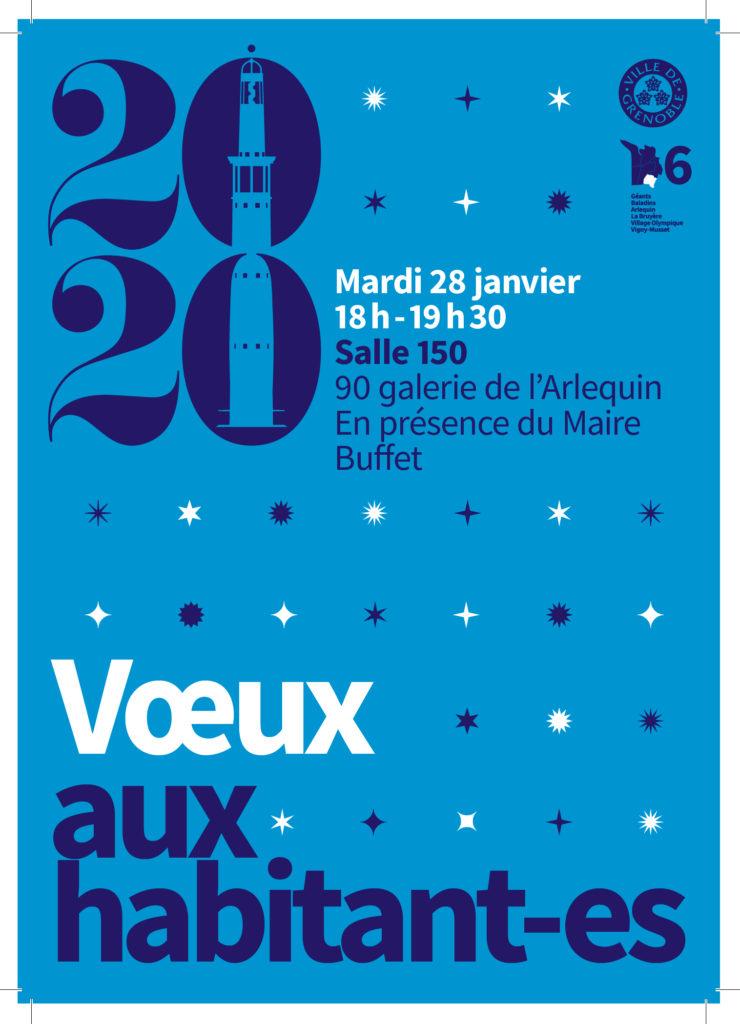 Vœux du maire de Grenoble à la population du secteur 6 @ Salle 150