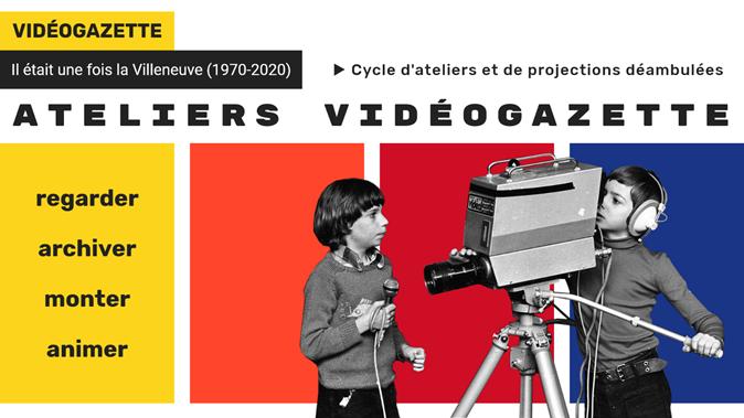 Atelier de montage de Vidéogazette @ Studio 97, La Maison de l'image