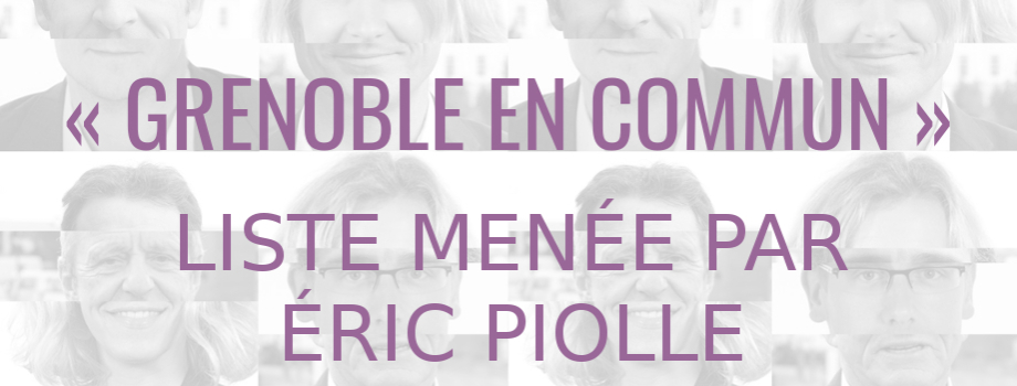 « Grenoble en commun » : municipales, paroles au quartier.