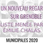 """""""Un nouveau regard sur Grenoble"""" : municipales, paroles au quartier."""