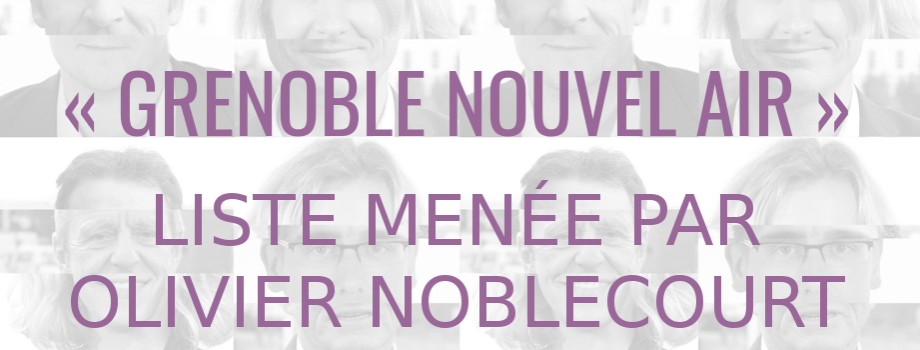 « Grenoble nouvel air » : municipales, paroles au quartier.