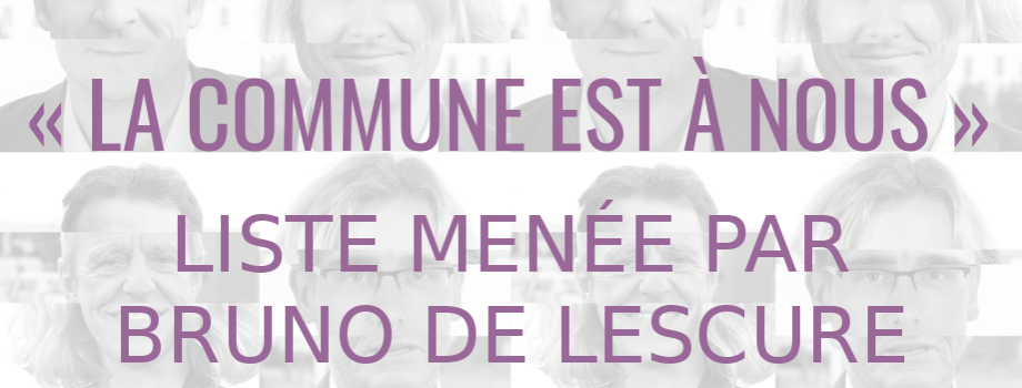 « La commune est à nous ! » : municipales, paroles au quartier.