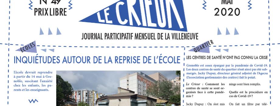 Lisez Le Crieur n° 49, mai 2020