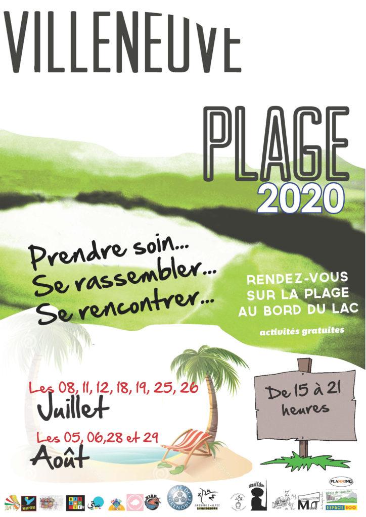 """[Villeneuve plage] """"Plein air"""" @ Au bord du lac de la Villeneuve"""